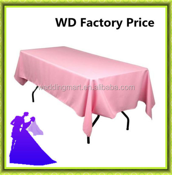polyester rectangle table cloth for Christmas