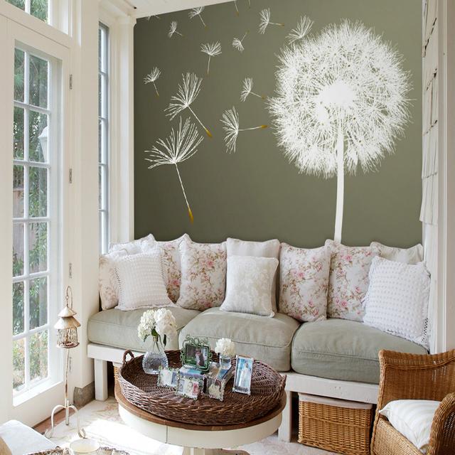 Murales personalizzati carta da parati camera da letto for Camera da letto con divano
