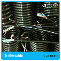 best seller 7 core 0.5 PA material semi trailer cable