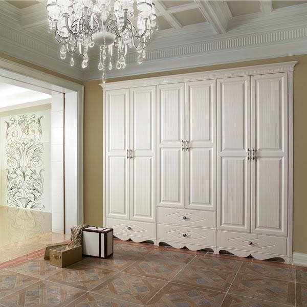 2014 New Design Decorative 3 Door Bedroom Laminate Wardrobe ...