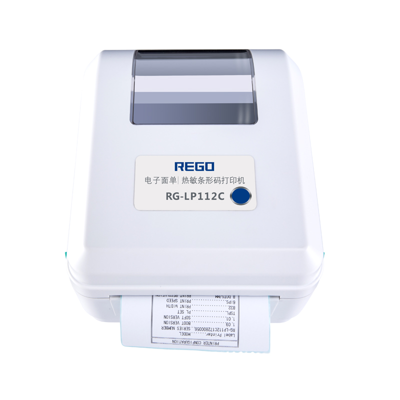 China vendor goedkope prijs RG-LP112C USB WIFI 4 inch direct thermische facturering digitale label printer en labels