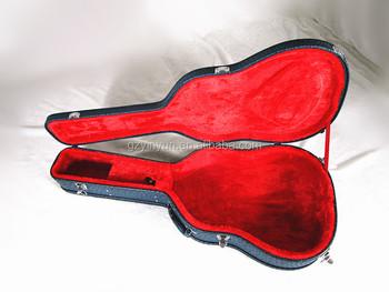 c2cb8f0e84 Linen Acoustic Guitar Case leathercl acoustic guitar case ,acoustic guitar  case for sale ,guitar
