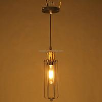 Handmade loft long shape imitated oil retro pendant vintga lamp
