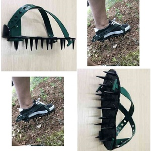 2018 new style plastic lawn aeration shoes lawn aerating shoes lawn spike shoes