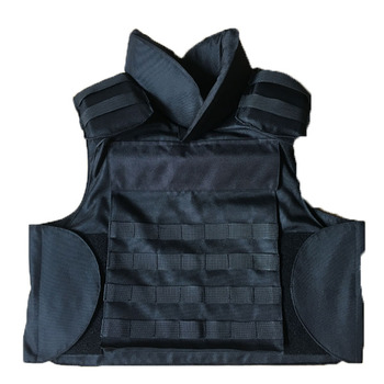 factory price full protection collar removable daily wear vest bulletproof body armor