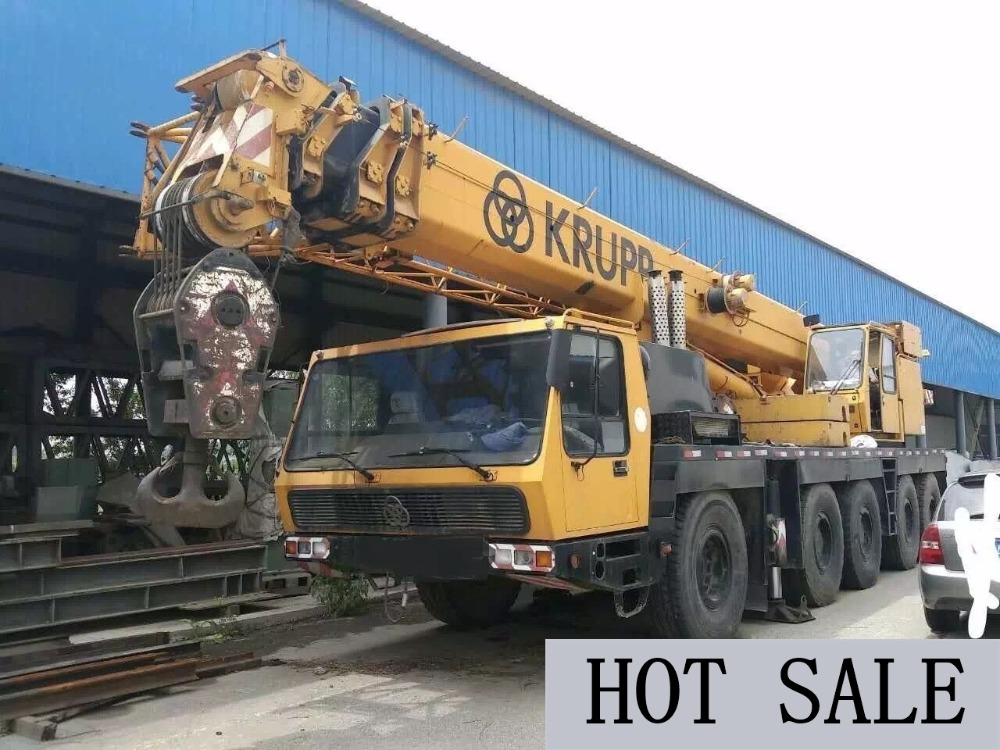 Truck Crane 100 Ton Used Krupp Truck Crane 100 Ton For Sale
