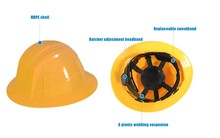 HDPE tough cheap 3m safety helmet function of safety helmet blue eagle safety helmet T019