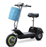 Electric vespa mobility three wheel scooter,zappy scooter wholesale