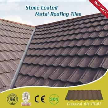 Keralar Roof Tiles Artificial Roofing Slates High Quality Stone Chips Coated Steel Tile