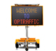 5 Color 12V LED Variable Message Sign,Solar Power VMS Trailer With Speed Radar