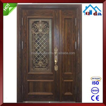 Low Price Safety Hollow Metal Double Door Design Buy Double Door