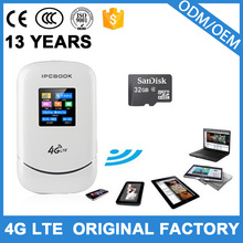 Qualcomm chip 4g modem lte router wifi with sim card slot