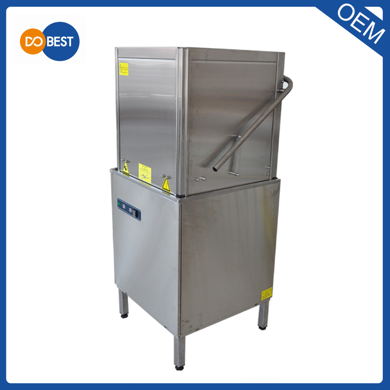Classical Commercial CE CSA Hood Type Dish Washer WD60-1
