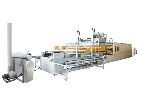 Piepschuim lade/box/kom/container making machine