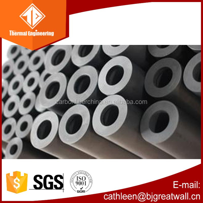 high quality graphite tube and graphite pipeline and graphite pipe