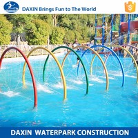 DAXIN Outdoor Playground Fences Rapids Water Park Thailand
