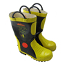 Fire fighting rubber boots with CE steel toe and steel plate