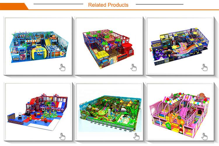 Goedkope residentiële kids indoor speeltoestellen te koop