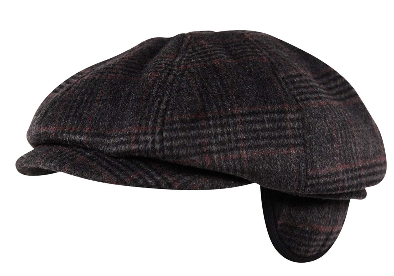 Exclusive ITZU Co Leopard Print 5 Panel Clasp Leather Snapback Cap Hat Snap Back