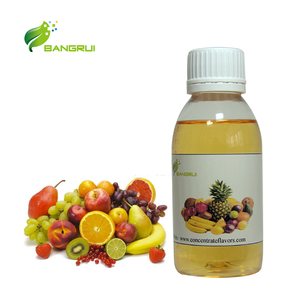 Food grade Hot sell Mix fruit flavor concentrate liquid