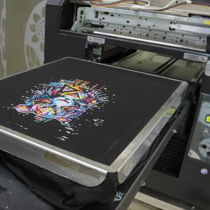 Factory sale knit fabric printer screen printing machine on fabric
