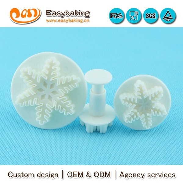 FP-0006 veined snowflake plunger cutters