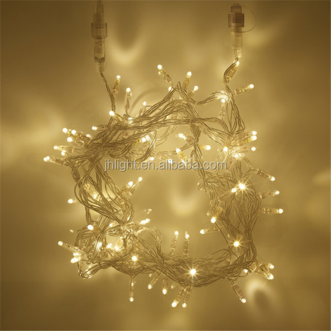 warm white 100 led garland lights for christmas christmas decor low voltage connectable led string - Low Voltage Christmas Lights