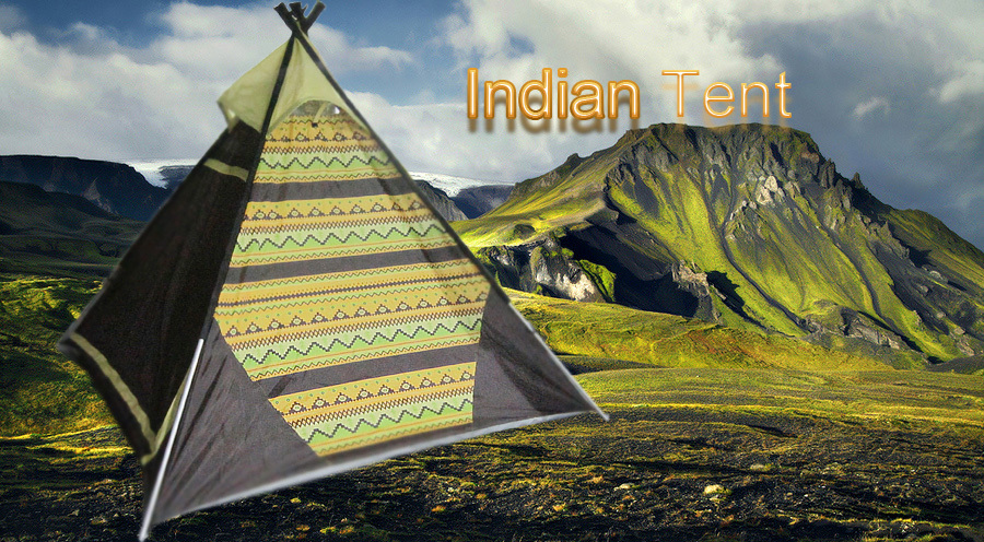 American Indian Teepee TentKorean Pyramid Style C&ing TentYuetor Brand Teepee Tent Factory & American Indian Teepee TentKorean Pyramid Style Camping Tent ...