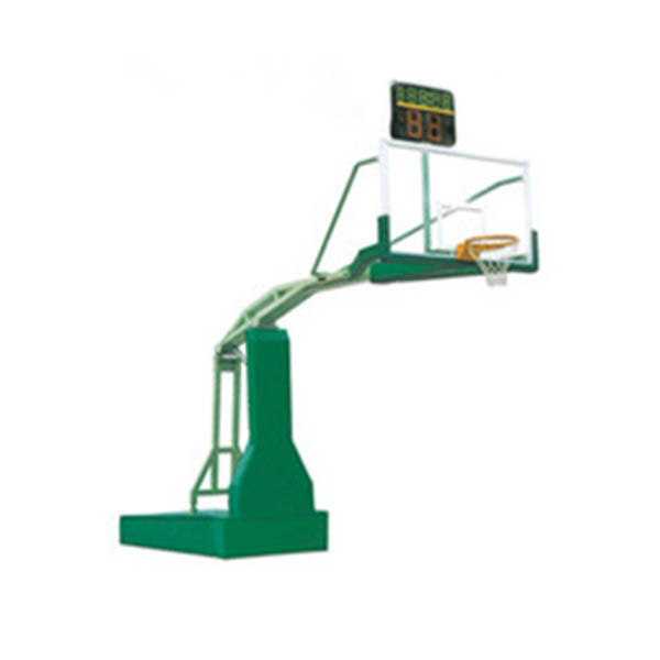 Tempered glass electric hydraulic basketball stand portable basketball goal
