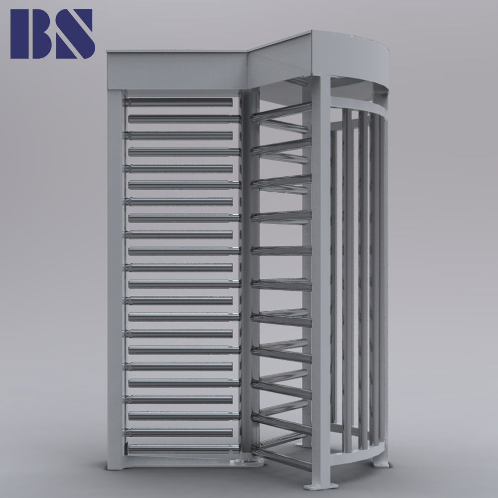 Wholesale Price Security Equipment Solenoid Full Height Revolving Turnstile Gate Barrier of RFID Card Reader for Access Control