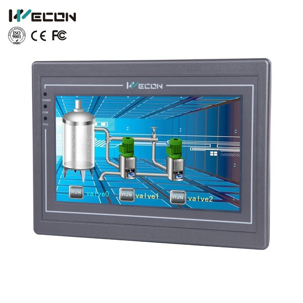 Wecon 7 inch resistive touch screen industrial pc