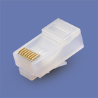 China factory abs amp 90 degree ftp cat6 rj45 cable modular jack plug