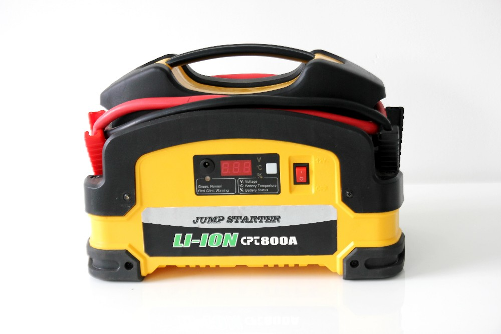 New Easy low price emergency booster pack jump starter 12/24v multi function jump starter 800a