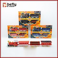 Custom die cast toy train with light and music