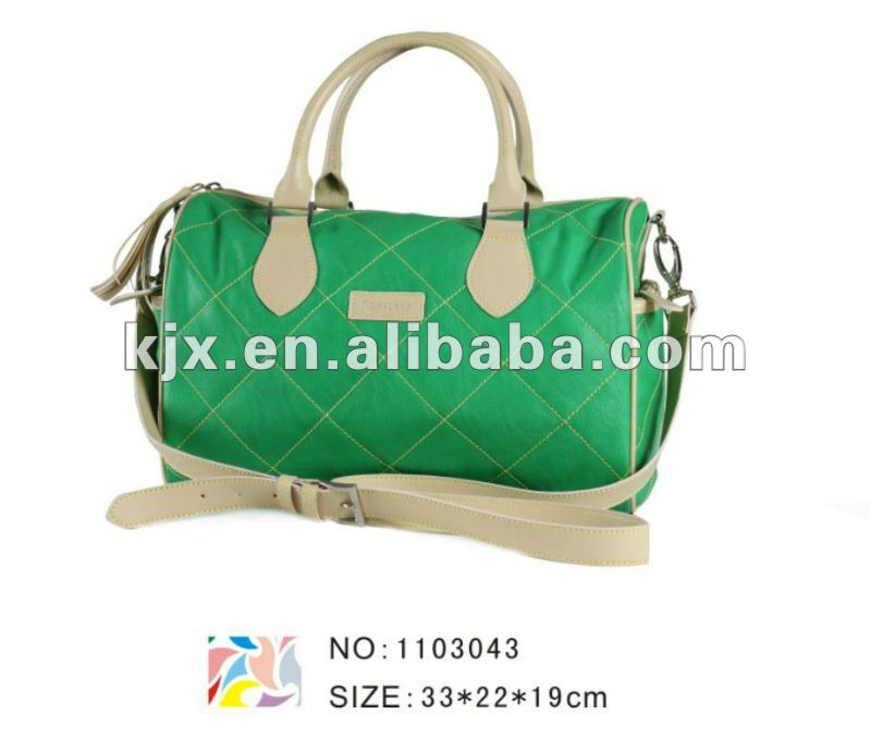 fashionable quilted fabric handbags