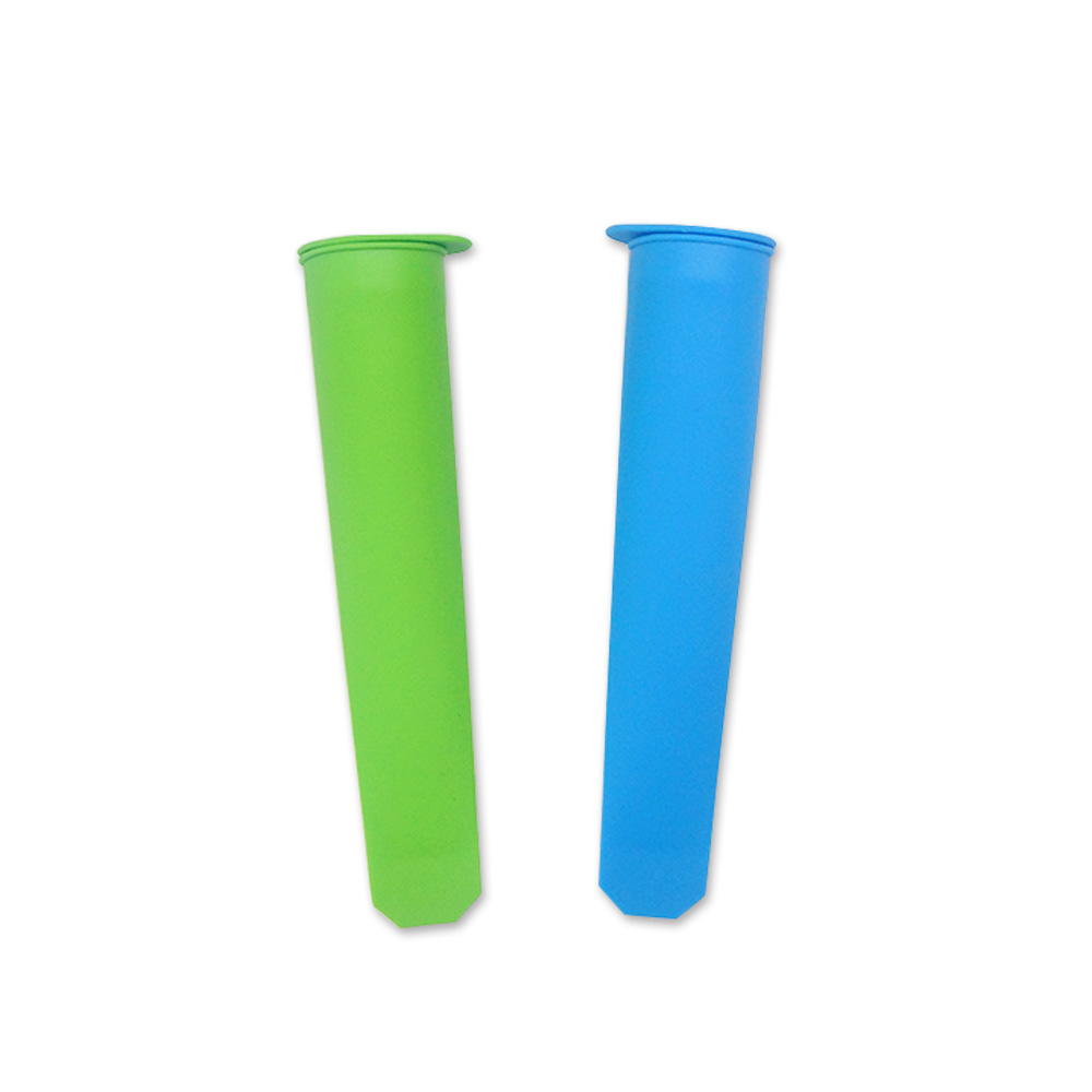 6 piece of no staining silicone ice popsicle mold  durian ice cream popsicle mold  ice cream gelato shape mold