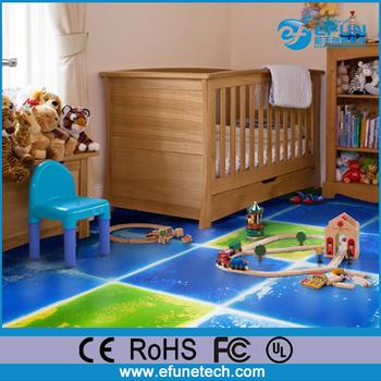 Eco Friendly Pvc Décoratifs Enfants Chambre Tapis De Sol,Vinyle