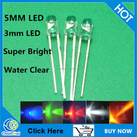 Made in china super bright led diode 5mm