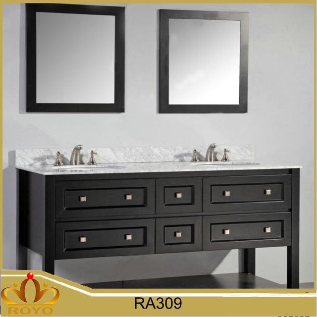modern mdf waterproof bathroom double sink vanity RA309. Buy Cheap China modern mdf vanity Products  Find China modern mdf