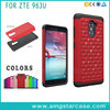 Factory Price Combo Hybird Bling Diamond Phone Case For ZTE Imperial Max 963U