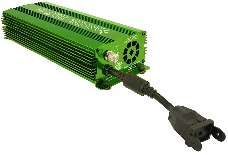 MASTER GREEN 1000 WATT Electronic Ballast - 120-240 Volt Master Green 1000 Watt Electronic Ballast - 120-240 Volt