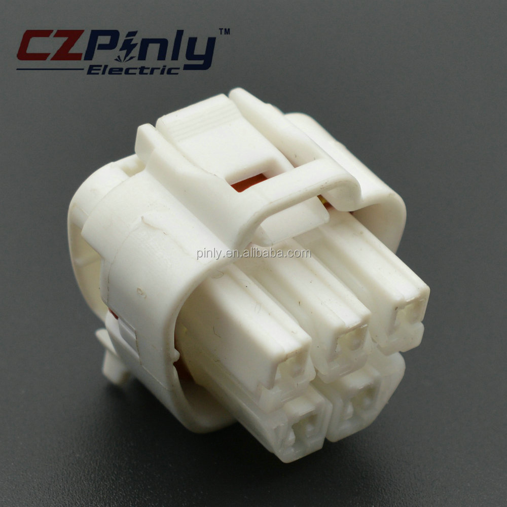 PINLY 5 way plug connector pigtail toyota fuel pump connections for Fuel Pump and Fuel Sender 90980-11077