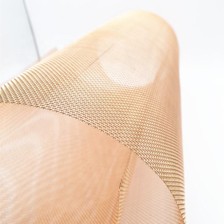 Laboratories shielding screen mesh red copper wire mesh in stock