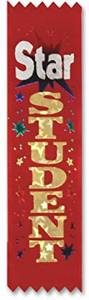 "Star Student Value Pack Ribbons (3 Pieces) - Star Student Value Pack Ribbonssize: 11/2"" X 61/4""Pkg: 10 Counttheme: Educationalfeatures: Value Packs"
