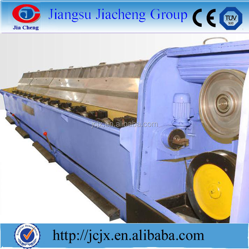 aluminum high speed rod breakdown machine for cable making-double spooler