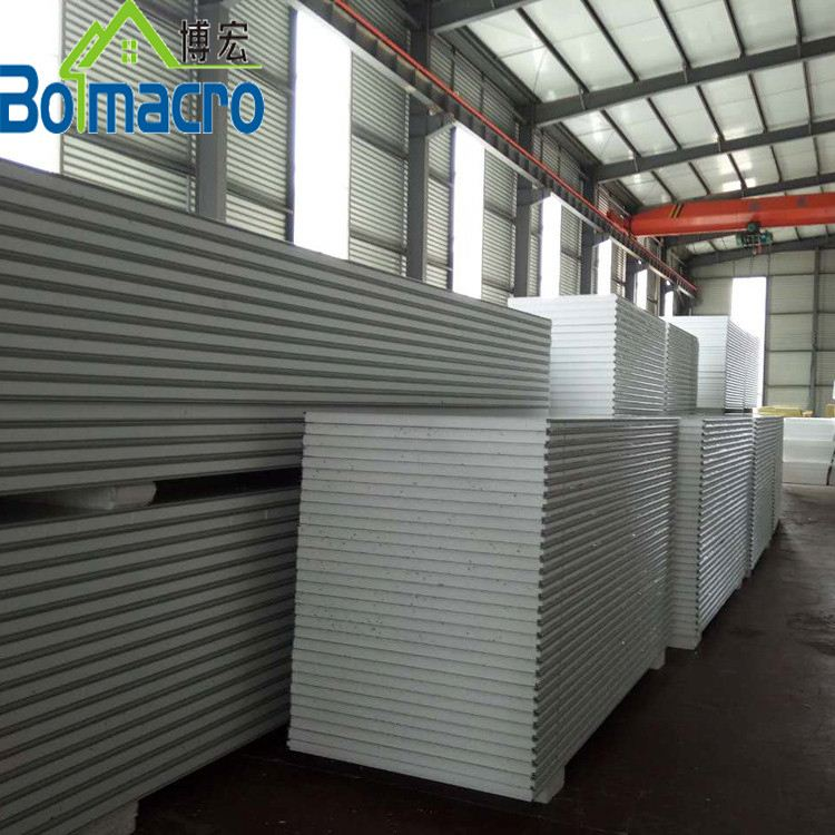 z-Lock Connection Type No Cold Bridge Phenomenon Eps Insulated Sandwich Panel Coolroom Panel