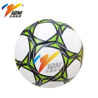 12M Official size 5 high quality Customized Logo Microfiber Pu Leather training American Soccer&Football