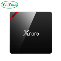 2017 Newest X96 PRO XNANO Android 6.0 Smart TV Box Amlogic S905X Quad Core 1GB 8GB BT4.0 Set-Top Box OEM TV BOX