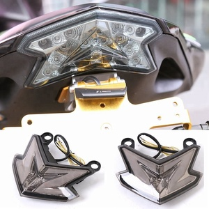 Z800 Motorcycle Accessories Modifications Rear Stop Light Turning Signal Light Taillight for Kawasaki Z800