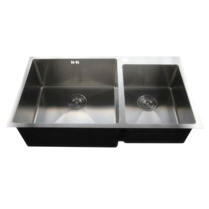 drop in double bowl upc kitchen sink